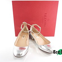 [Eco Ring HK]*Valentino Pumps Size 35.5 TTM4862 Silver*Rank B-197020041-