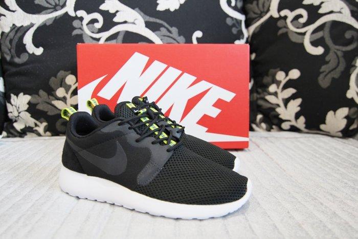 美國購回 Nike Roshe one HYP  黑網布 X 反光 X 麂皮  US:6 24CM