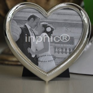 INPHIC-創意合金心形照片相框  婚禮