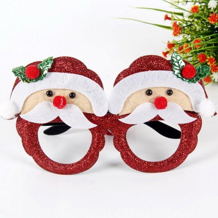 聖誕節造型眼鏡 聖誕節 聖誕老人眼鏡 雪人款眼鏡 聖誕樹眼鏡 麋鹿眼鏡 雪花眼鏡 造型眼鏡 聖誕節派對小物【I20】