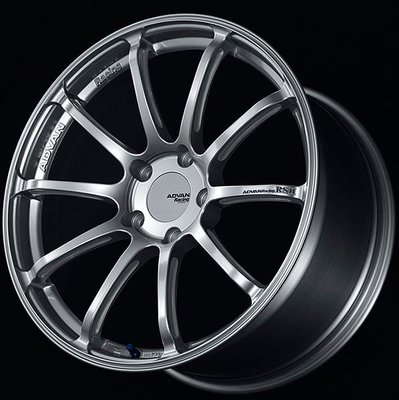 日本 Advan 鋁圈 Racing RS II 高亮銀 消光黑 競技紅 19吋 20吋 130 Porsche 專用