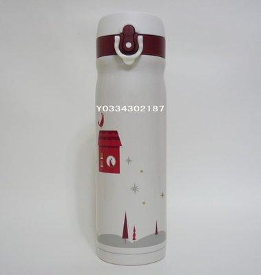 星巴克STARBUCKS 2012 聖誕/耶誕 膳魔師 耶誕星空不鏽鋼隨身瓶/不銹鋼保溫瓶 500ml