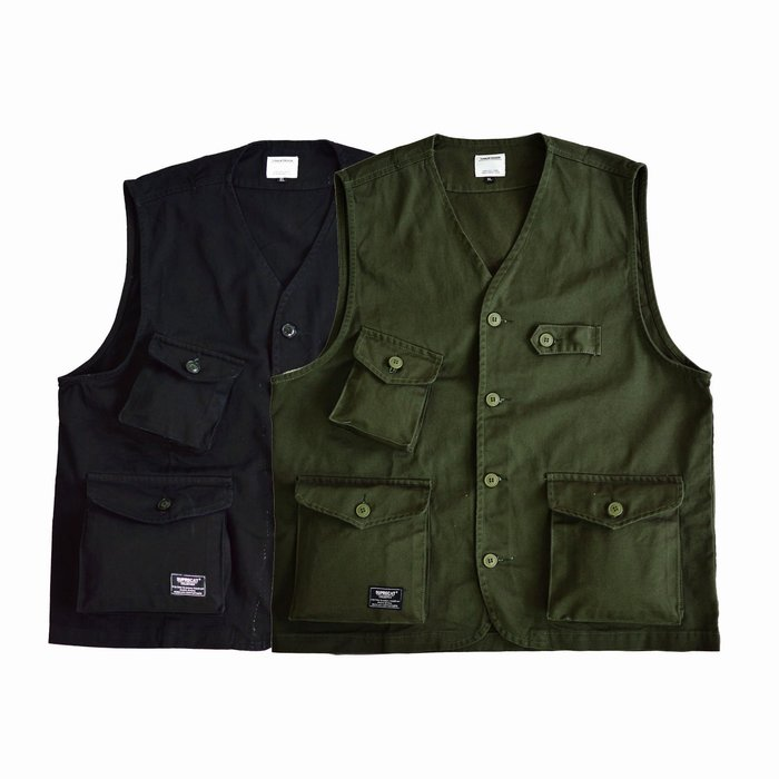 X10  2020 美式 復古  多口袋  軍事  工裝背心 多層次  重磅  立體口袋  軍綠 黑