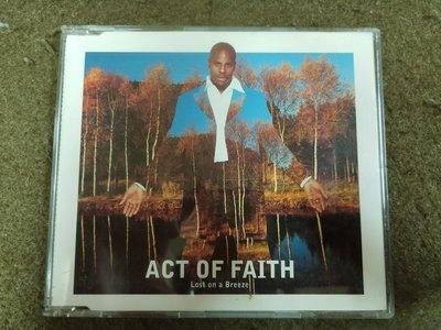 長春舊貨行 LOST ON A BREEZE CD Act of Faith ISLAND 1995年 (Z36)