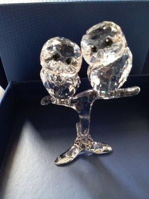Swarovski Crystal 2017 Baby Owls #5249263