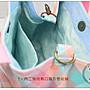 ✿小布物曲✿手作淑女水桶包 精巧手工車縫製作 進口條紋布料質感超優(厚)-粉色 休閒款