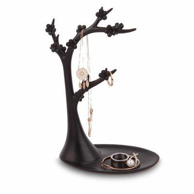 首飾架 首飾展示架樹創意掛耳環架項鏈戒指飾品架子LJ9046『全館免運』