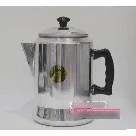 【港式奶茶壺-鋁合金-直徑16*高26cm-3L-1套/組】絲襪奶茶壺 沖茶壺 拉茶壺鋁制不可用再電磁爐-7501007