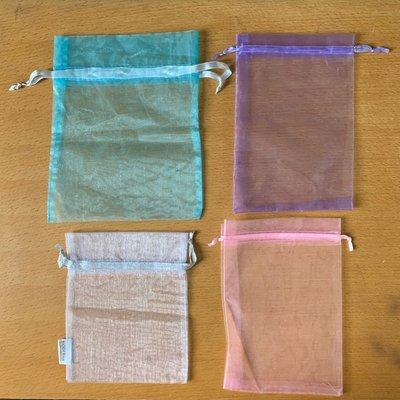 網質束繩禮物袋 雜物包裝袋