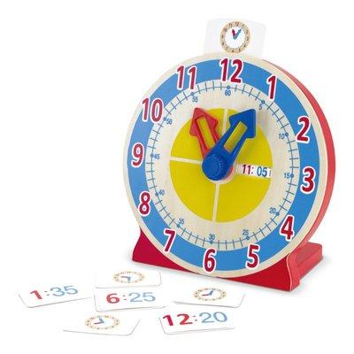 【晴晴百寶盒】美國進口時鐘學習機 Melissa&Doug扮演角系列手眼協調生日禮物家家酒 益智遊戲玩具W679