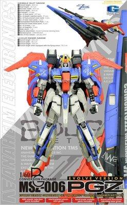 G-System GS-233 1/60 MSZ-006 Z PG 模型改裝配件 高達手辦模型 Gundam resin model Supreme kit