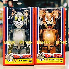 Medicom 2019 Bearbrick Tom & Jerry 400% 貓與老鼠 Be@rbrick set