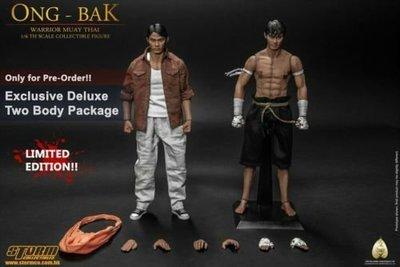 Storm Toys Ong-Bak 拳霸 Tony Jaa The Thai Warrior Ting Deluxe 雙body豪華版 1/6 hottoys