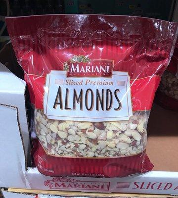 Costco好市多 MARIANI 杏仁切片 907g  sliced almonds