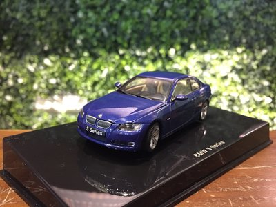 1/ 43 AUTOart BMW 3 Series (E92) Coupe 2007 Blue 55172【MGM】 台北市