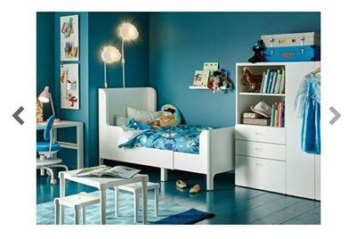IKEA延伸床兒童床單人床BUSUNGE 台北市