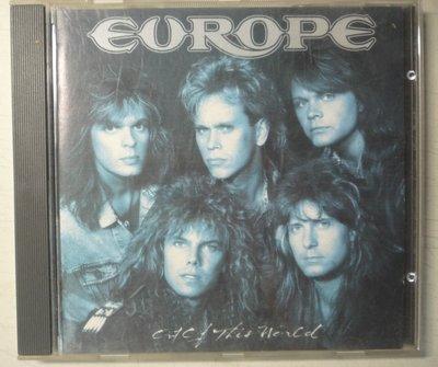 西洋 CD  Europe  歐洲合唱團 -- Out of this world 世外桃源