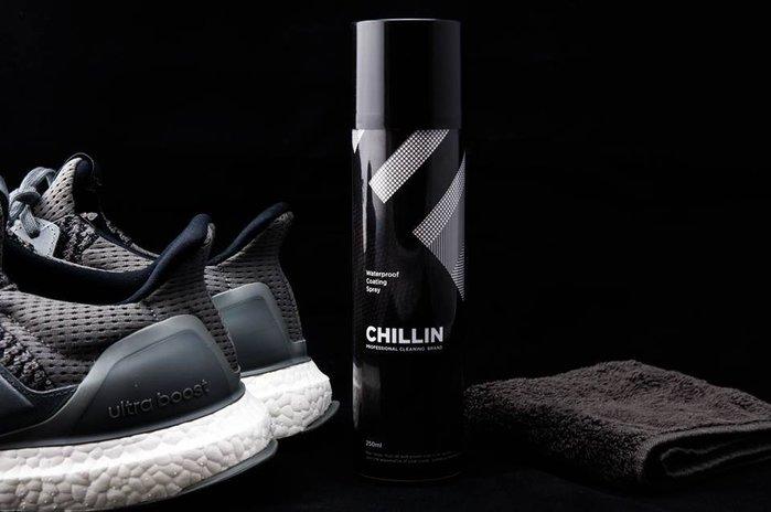 XinmOOn * Chillin Waterproof 專業防水抗污噴霧 250ml 球鞋清潔 保養 除臭