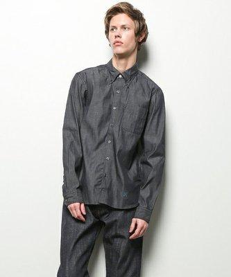 特價【NSS】uniform experiment UNDISCOLORATION DENIM B.D SHIRT S