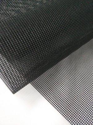 &布料共和國&~箱包材料批發~PVC黑網布 止滑性 厚度1mm 環保PVC 無毒 適用於箱.背包.登山包外網袋用.