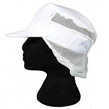 一鑫餐具【廚房衛生帽 女生 A305】廚師帽食品帽網帽白色網帽工作帽