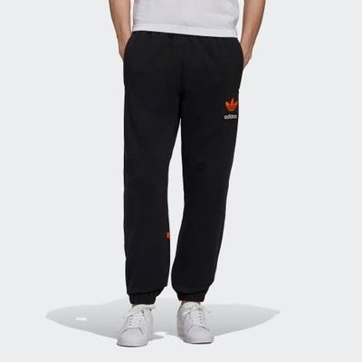 FOCA Adidas Originals BIG TRFL 棉褲 黑色 男款 縮口褲 長褲 h09344 愛迪達