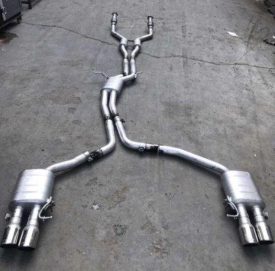 【YGAUTO】二手時間 AUDI 奧迪 S5 A6 A7 升級 德國 REPOSE 二手前中尾段排氣管