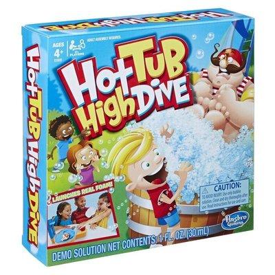 ☆快樂小屋☆ (內附中規) 跳水泡泡遊戲組 Hot Tub High Dive 英文版 正版 台中桌遊