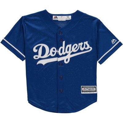 MLB 美國大聯盟 正品 Majestic 洛衫磯 道奇隊 Dodgers 球衣 棒球衣  兒童版 生日 兒童L 運動服