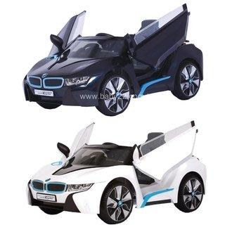 BMW-I8高階雙驅兒童(附遙控)電動車(黑色/白色)W480QHG2