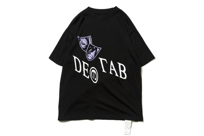 """[ LAB Taipei ] DeMarcoLab """"IN VISIBLE NOISE TEE"""" (Black)"""