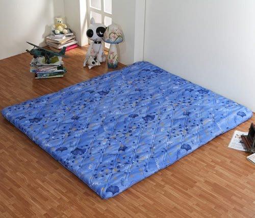 莫菲思 北海道日式折疊雙人床墊(藍銀杏)