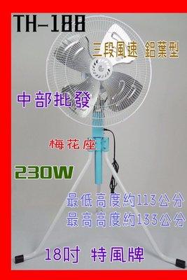 批發 強力型 18吋 230W 工業電扇 電扇 升降電扇 工業用扇 機器散熱 擺頭扇 立扇 工業扇 電風扇 擺頭電扇