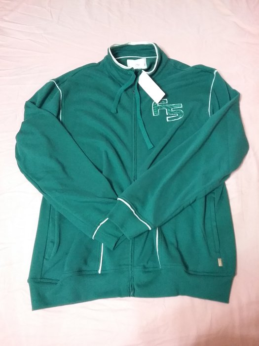 Five up綠色男棉質外套XL碼東方 , 正貨有標籤,零碼 90%棉,10%聚酯纖維,有
