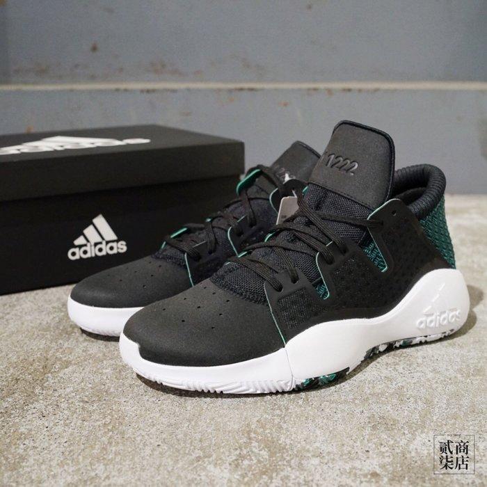 (貳柒商店) adidas Pro Vision 男款 黑色 黑綠 黑白 籃球鞋 實戰籃球鞋 D96946