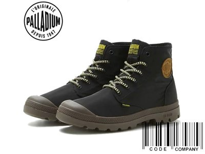 =CodE= PALLADIUM PAMPA PUDDLE LITE+ WP 防水輕量軍靴(黑咖啡)76117-036男