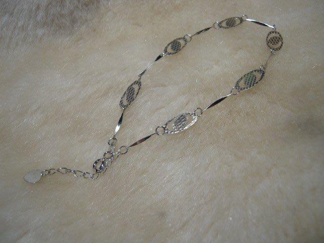 ※水晶玫瑰※ 925純銀造型手鏈(RD122)
