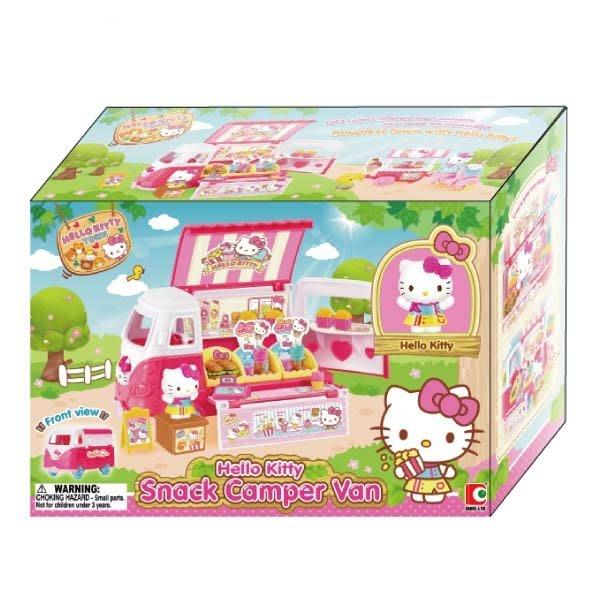 【W先生】Hello Kitty 凱蒂貓 胖卡漢堡車 女孩 家家酒 玩具 扮家家酒