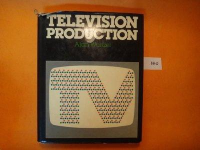 【愛悅二手書坊 13-42】Television Production    麥格勞-希爾公司   書衣小瑕