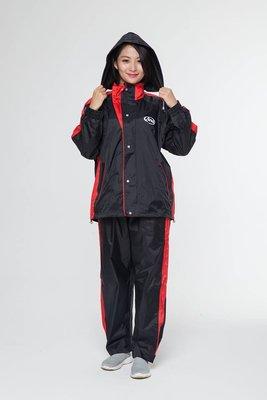 ARAI K5 褲裝雨衣(紅色)兩截式雨衣 台灣製造 兩件式雨衣 釣魚