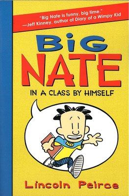 *小貝比的家*BIG NATE IN CLASS BY HIMSELF #1/平裝/7-12歲