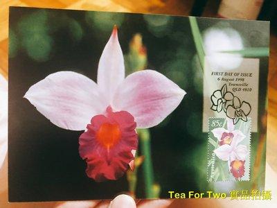 (全新)澳洲-奧運明信片+(郵票)首日