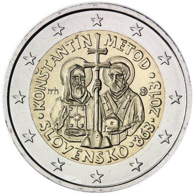 【幣】2013 EURO 斯洛伐克發行 2歐元紀念幣