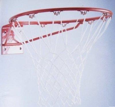 比賽用標準5分實心籃球框 含三色籃網、固定螺絲(買家樂廣場)