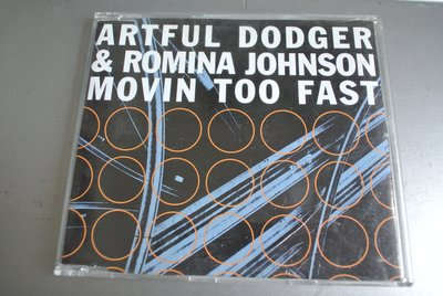 CD ~ Artful Dodger MOVING TOO FAST ~ 1999 SONY DAN-669205-2