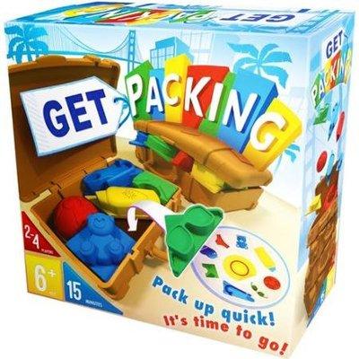 大安殿含稅附發票 附簡體中文說明書 收納達人 Get Packing 兒童遊戲 正版益智桌遊