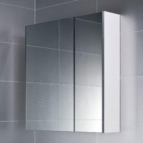 《101衛浴精品》台灣製 70CM 100%全防水 鋁封邊鏡面 雙門鏡箱櫃 非規格品尺寸可另外訂製【免運費 可貨到付款】