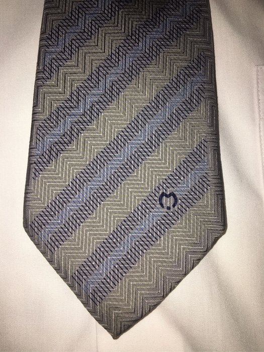 Mila schon  義大利絲質領帶 9.5成新