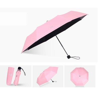 好聚好傘 雨傘遮陽傘晴雨傘三摺傘折疊傘(100CM)I66