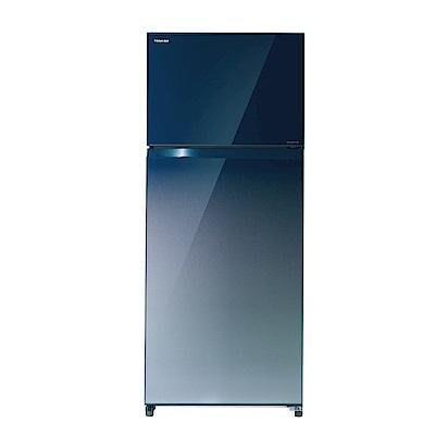 *~新家電錧~*【TOSHIBA東芝】[ GR-AG55TDZ ] 510L 玻璃鏡面冰箱 【實體店面】